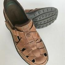 Timberland Men's Sandals Leather Excellent Size 10b Photo