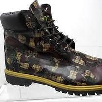 Timberland Mens 13 M 28517 4240 Green Brown Work Boots Vguc 6