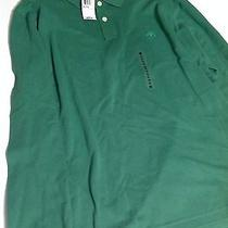 Timberland Mens Green Long Sleeve Polo Xl  New Nwt Reatils 59.50 Photo