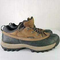 Timberland Mens Size 12 Brown Duck Waterproof Boots Shoes Hunting Winter Photo