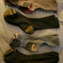 Timberland Mens Socks 4 Pack Outdoor Leisure Crew Assorted Photo