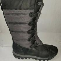 Timberland Mt Hayes Women's Waterproof Faux Fur Tall Winter Boots Size 8.5 Photo