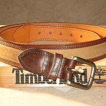 Timberland / Nubuk Leather Belt / Photo