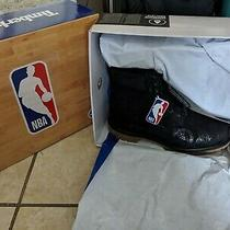 Timberland Premium Boot Black Nubuck Nba X East vs West A24ba-001 Men's Shoes Photo