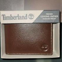 Timberland Premium Genuine Leather Passcase Men's Wallet. Brand new.55.00 Photo