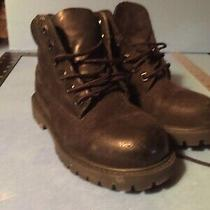 Timberland Premium Little  Kids Toddler Black Suede Boots Model 12807 Us 10 Nice Photo