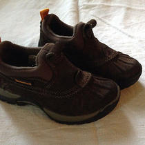 Timberland Shoes Baby Boy Size 10 Brown Leather Photo