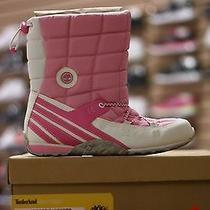 Timberland Snow Poppies Pink Size 6 Photo