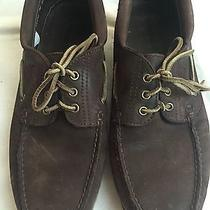 Timberland Solid Brown Leather Oxfords Shoes Size  Photo