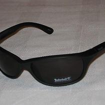 Timberland Sunglasses Wrap Sport Black Plastic Frame Clear Lens  New Photo