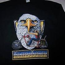 Timberland Surivior Shirt Long Sleeve Eagle Motorcycle Photo