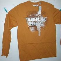 Timberland T-Shirt L/s Mustard Tree Tiff Tee Medium Nwt Photo