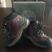 Timberland Toddler Boys Size 8 Back Road Hiker Boots Euc Photo