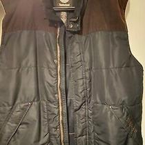 Timberland Vest Large Corduroy and Polyester Excellent Condition Pre-Owned Photo