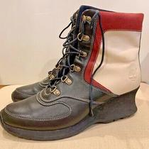 Timberland Wedge Heel Boots Womens Size 8m Photo