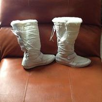 Timberland White Snow Boots 10m Photo