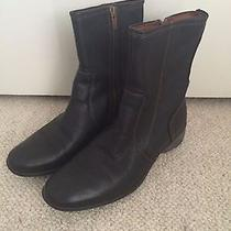 Timberland Women's Black Snow Boots Size 8 Photo
