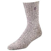 Timberland Women's Cotton Blend Marled Crew Sock Style Tw043 Photo