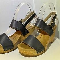 Timberland Women's Earthkeeper Tilden Double-Strap Sandal Size 8 Pre-Owned Blue Photo