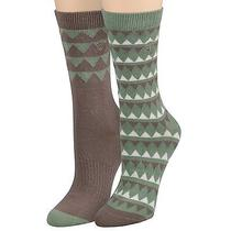 Timberland Women's Earthkeepers Patterned Crew Sock 2pk Style J0225 Photo