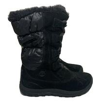 Timberland Women's Mt. Holly Winter Snow/duck Boots Black Suede Sz 8 3822r Photo