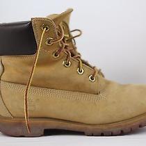 Timberland Womens 6 Inch Premium Boot 10361 - Wheat Size 6.5 Photo