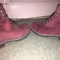 Timberlands (All Black & Burgundytimbs) 2 for the Price of 1 Photo