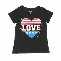Time 2 Shine Girls Black Short Sleeve T-Shirt 7 Photo