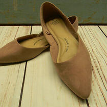 Time and Tru Blush Pink Flats Memory Foam Pointed Toe Shoes Sz 9 Photo