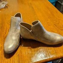 Time and Tru Rose Gold Ankle Boots 9w Nwot Photo