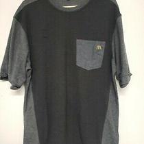 Timeless Elements Mcdonalds Employee Uniform Polo Shirt Gray Mens Large Grey L Photo