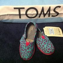 Tiny Classics Aqua Brushed Leopard Size 8  Photo