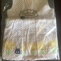Tiny Tillia  Pink Polka Dots Baby Dress Avon 0-3m 100% Cotton Photo