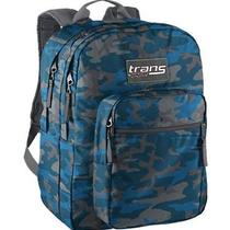 Tm60 Travel Backpack Military Camouflage Grey Blue Schoolbag Hiking Pack Bike  Photo