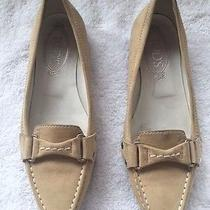 Tod's Beige Suede Loafers Photo