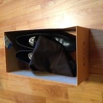 Tod's Black Leather Brian Penney Front Size 7.5 Photo
