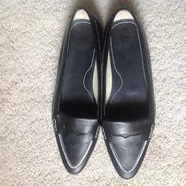 Tod's Black Leather Shoes Photo