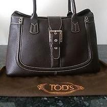 Tod's Brown Leather Bag Photo