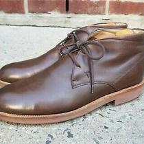 Tod's Brown Leather Chukka Boots Mens 10.5 Us / 9.5 Uk Photo