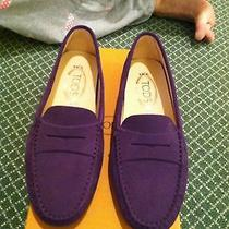 Tod's Driving Moccasin New in Box. Size 38.5 Photo