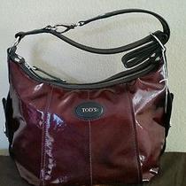 Tod's G Line Sacca Tracolla Piccolla .handbag  Crossbody Purse.  Photo