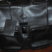 Tod's Leather Briefcase Photo