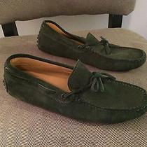 Tod's Loafers - Suede Green Photo