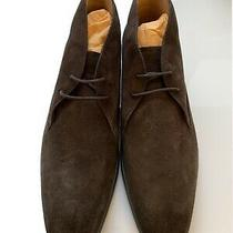 Tod's Suede Desert Boots Brown Men's Size 8.5 (9.5 Us) Brand New Photo