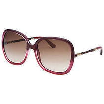 Tod's To83-71f-58 Women's Square Pink Mother of Pearl Sunglasses Photo