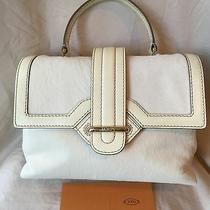 Tod's White Calfskin Leather