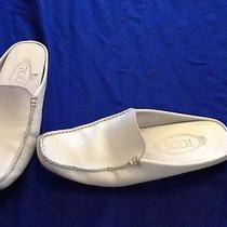 Tod's White Moccasins Photo