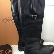Tod's Womens Tall Boots - New With Box Size Us 10m Photo