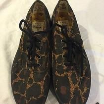 Todd Oldham Keds Rare Vintage Platform Leopard Sneakers Wow Brand New Photo