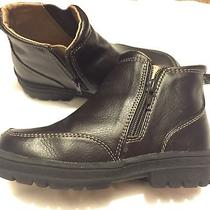 Toddler Boy Baby Gap Boots Dark Brown Size 10 Photo